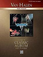Van Halen: Authentic Guitar-tab (Alfred's Classic Album Edtions)