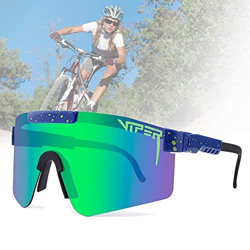 CWWHY Gafas De Sol Polarizadas, Gafas De Sol De Ciclismo, Gafas De Sol Deportivas para Ciclismo Hombres Mujeres Deportes Al Aire Libre Pesca Golf Gafas De Béisbol Gafas A Prueba De Viento,C05