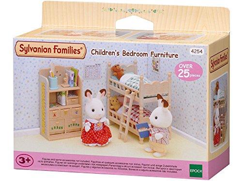 Sylvanian Families - Le Village - Le Mobilier Chambre enfants - 4254 - Meubles et Accessoires Poupée - Mini Poupées