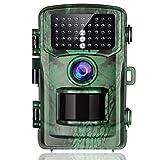 TOGUARD Caméra de Chasse 14MP 1080P Scoutisme Caméra Détecteur de Mouvement Vision de Nuit avec LCD Écran 2,4' IP56 Étanche pour Animaux Sauvages de Chasse et Sécurité à Domicile