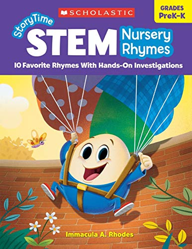 Scholastic Storytime STEM Nursery Rhymes, Grades PreK-K