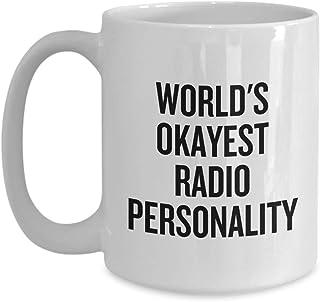 ラジオパーソナリティギフト – 面白いラジオプレゼンターギフト – ラジオホストマグ – 世界最高のラジオパーソナリティ – ラジオプレゼンター