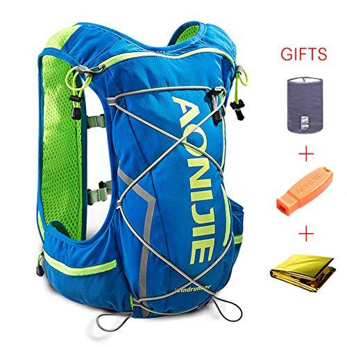 AONIJIE Mochila Hidrataci/ón Mochila Ligera 10 L Impermeable para Viajes para vejiga de Agua de 2L, Senderismo Camping,Correr,Caminar,Escalada, Actividades al Aire Libre