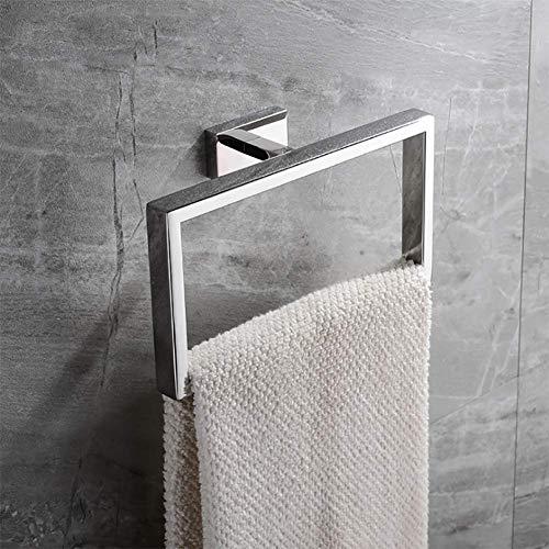 QIFA Handtuchring aus Edelstahl, Badezimmer Handtuchständer, Wand Handtuchhaken Handtuchhalterung