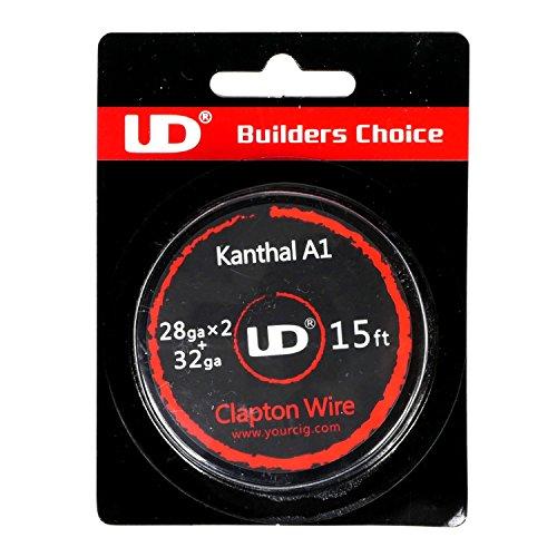 Youde UD Clapton Draht zum Selbstwickeln von Coils, Circa 4.5 m Rolle, 0.2 x 0.3 mm Durchmesser (32 x 28 awg), 1 Stück