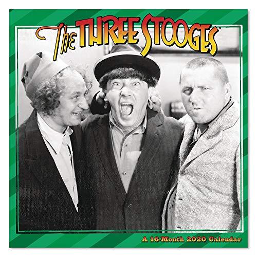 2020 The Three Stooges Wall Calendar (DDD1302820)