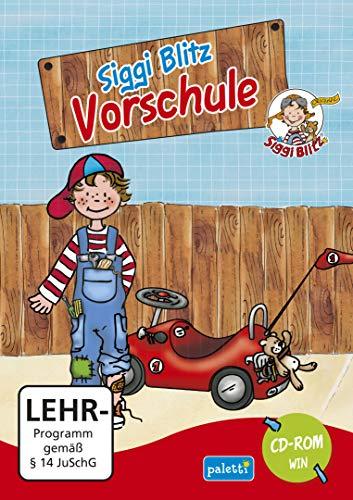 Siggi Blitz Vorschule Lernprogramm CD ROM