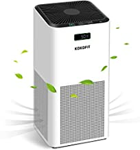 Kokofit Hepa Air Purifier for Home Large Room, Up to 800 sq ft Large Room Air Cleaner for Smoke, Odor, Dust, Pet Dander, Mold, Allergens, Monitor Air Quality with PM2.5 Display