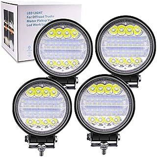 """Biqing 4SZT Reflektor Roboczy LED,72W Oświetlenie Robocze Spot & Flood Combo 4.5"""" Listwa świetlna LED 12V 24V Reflektor Pr..."""