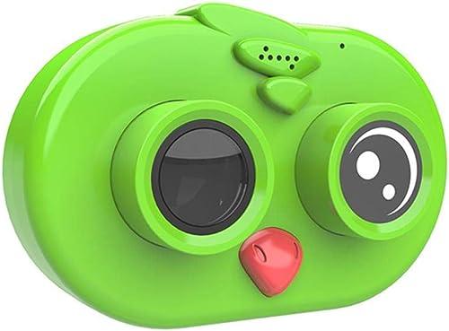 HXZB Enfants caméra voituretoon Oiseau Forme Mini Sports Toy HD Appareil Photo numérique pour Enfants Joli Cadeau pour Les Garçons et Les Filles,vert