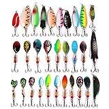 Señuelos de Pesca, Paquete de 30 señuelos de Pesca de Lucio, con...
