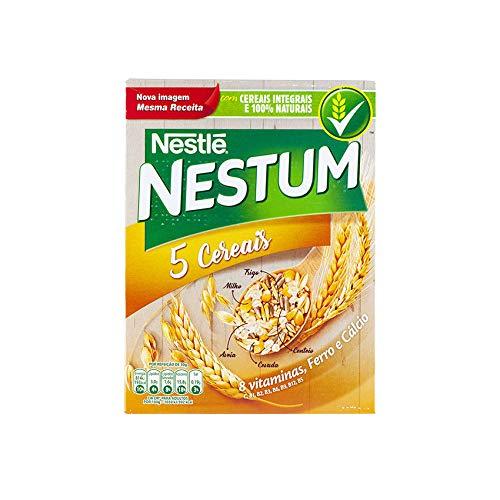 Getreideflocken mit 5 Getreidesorten, NESTLÉ, Hekunftsland Portugal, Box 250g - Flocos de Cereais NESTUM 5 Cereais 250g