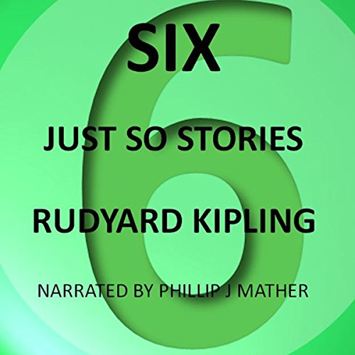 Six Just So Stories audiobook cover art
