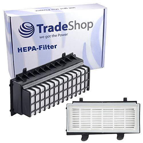 Trade-Shop HEPA-Filter für Bosch BGS5A33S BGS5ALL4 BGS5ALL6 BGS5ECOGB BGS5KITFR BGS5MKIT BGS5PETGB BGS5R33S BGS5R66M BGS5S66CH BGS5SIL1AU BGS5SIL2GB Abluftfilter