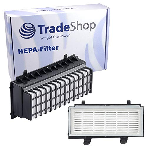Trade-Shop HEPA-Filter für Bosch BGS5ALL1 BGS5PERF5 BGS5SIL1AU BGS5SIL66A BGS5SIL66B BGS5SIL66C BGS5SILM1 BGS5Z0002 Zoo'o ProAnimal BGS55S66 / Abluftfilter