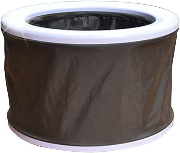 XSJZ Toilette Mobile, Toilette de Voiture Portative, Toilette Pliable pour Sac de Transport Pratique pour Urines