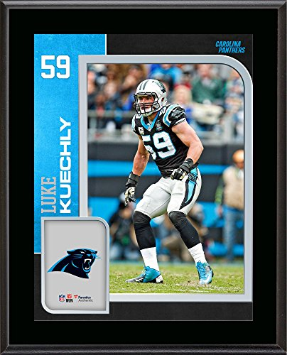 Luke Kuechly Carolina Panthers 10.5'' x 13'' Sublimated Player Plaque - NFL Player Plaques and Collages