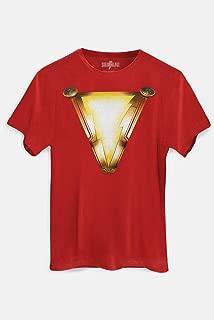 Camiseta Shazam Logo Filme Oficial Masculina