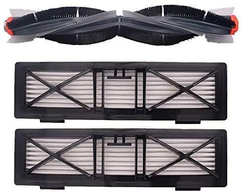 Pièces pour aspirateur - Rouleau de filtre et brosse latérale et filtre - Compatible avec Neato Botvac Botvac 70 75 80 85 - Pièces automobiles - Accessoires pour la maison - Couleur : A)