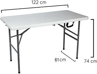 Papillon 8043810 Mesa Plegable Rectangular 122x61x74cm