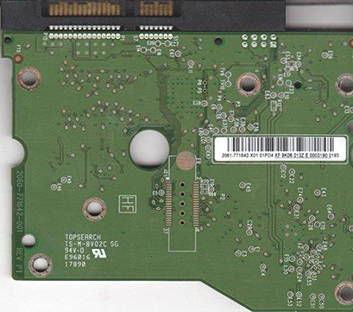 WD20EARS-00S8B1, 2061-771642-X01 01PD4, WD SATA 3.5 Leiterplatte (PCB)