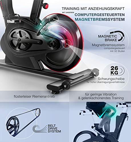 Sportstech SX600 Elite Indoor Cycle Bike Fitness Bild 2*