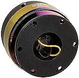 NRG Innovations SRK-200BK/MC Quick Release (Black Body/Neo Chrome Ring), medium