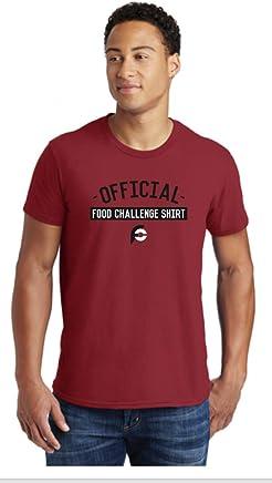 Randy Santel Official Food Challenge Tee Shirt Red