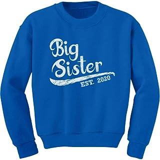 Big Sister Est 2020 - Sibling Gift Idea Youth Kids Sweatshirt