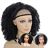 Best African American Wigs - Headband Wig African American Kinky Curly None Lace Review