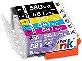Starink PGI-580XXL CLI-581XXL Compatibile per Canon PGI 580 CLI 581 XXL Cartucce d'inchiostro per Canon Pixma TS8150 TS8151 TS8152 TS9150 TS9155 TS8250 TS8251 TS8252 TS8350 Stampante 6 Pack