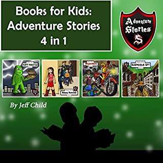 Books for Kids: Adventure Stories 4 in 1 audiobook cover art