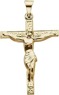 Best 18k gold crucifix Reviews