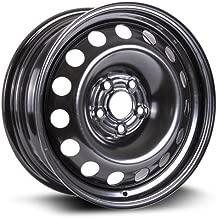 RTX, Steel Rim, New Aftermarket Wheel, 16X6.5, 5X105, 56.6, 39, black finish X46656