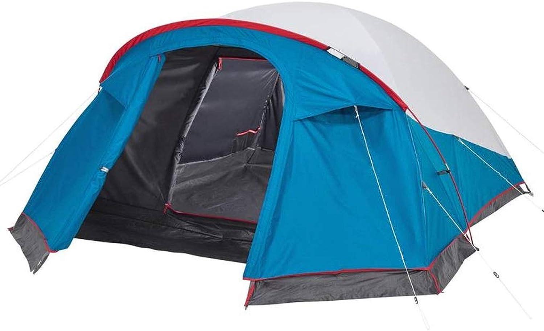 CHEXIAO Zelt, 3 Personen Campingzelt Sonnencreme Tragbare Atmungsaktive Campingzelt Outdoor-Reisen