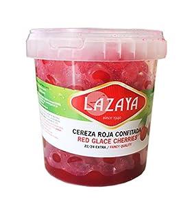 Lazaya Cereza roja confitada 1 Kg