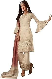 salwar kameez with net sleeves