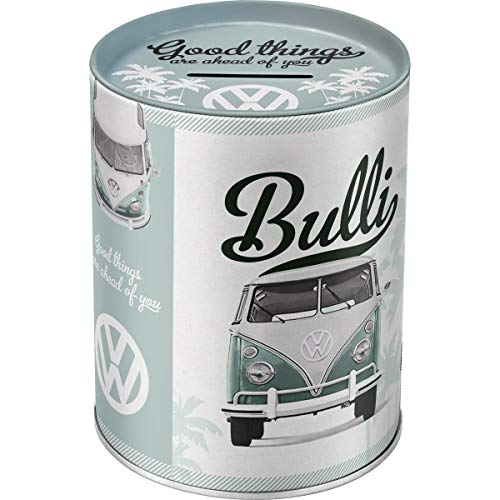 Nostalgic-Art 31004 Volkswagen - VW Bulli - Good things are ahead of you, Spardose