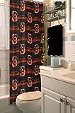 Northwest 903 NFL Cincinnati Bengals Shower Curtain