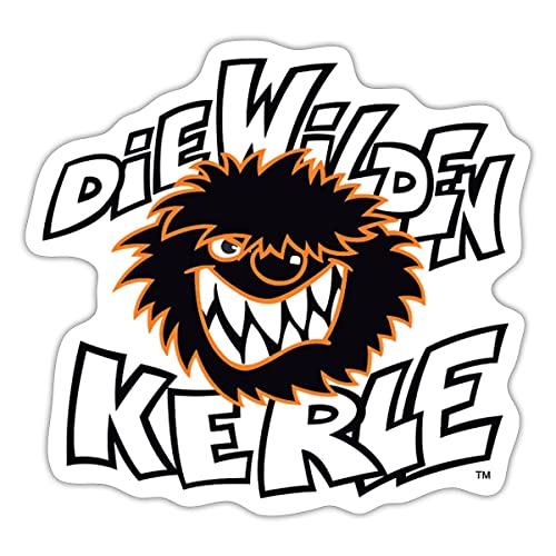 Spreadshirt Die Wilden Kerle Logo Sticker, One Size, Mattweiß