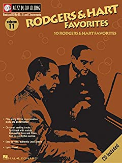 ジャズ・プレイ・アロング 第11巻: ロジャーズ & ハート: カラオケ & 伴奏CD付/ハル・レナード社/サクソフォン・ソロ