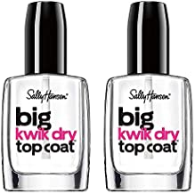 Sally Hansen Big Kwik Dry Top Nail Coat Treatment, 0.4 Fl Oz (Pack of 2)