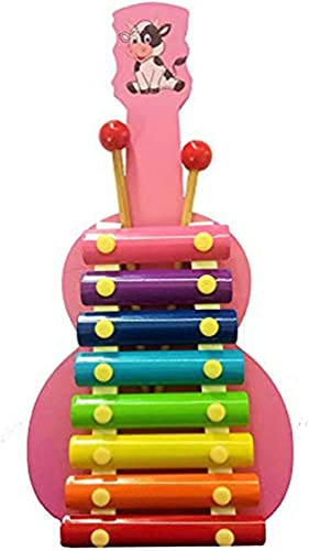 CONTEX MEDIA Xylophone for Kids Best Educational Development Musical Kid Toy as Birthday Holiday Instrument Gift for Toddlers Musical Cards
