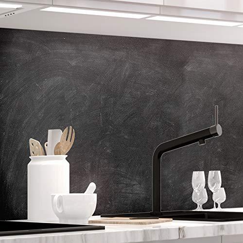 StickerProfis Küchenrückwand selbstklebend - SCHULTAFEL(für Kreide) - 1.5mm, Versteift, alle Untergründe, Hart PET Material, Tafelfolie, Premium 60 x 280cm