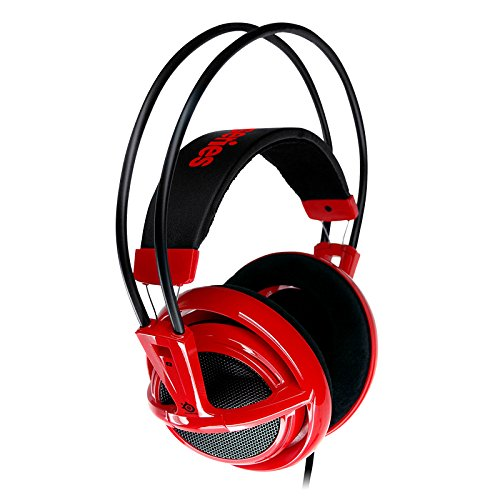 Gaming Headset SteelSeries Siberia V2 Full-Size rot