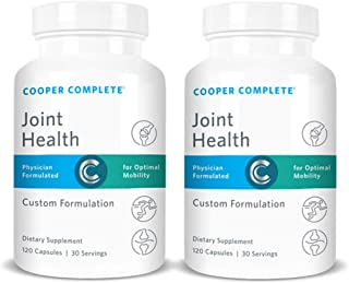 Cooper Complete - Joint Health Supplement - Glucosamine, Chondroitin, Gelatin, Bromelain - 60 Day Supply
