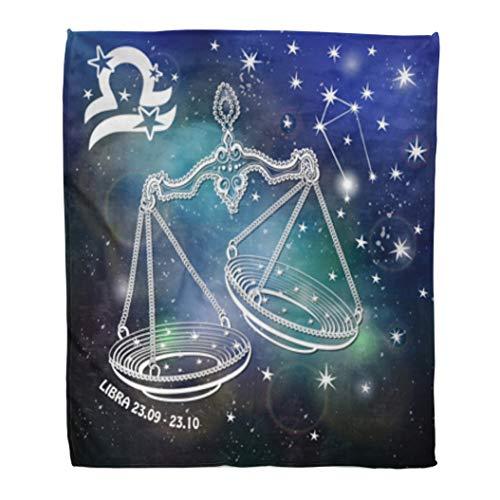 Libra Throw Blanket