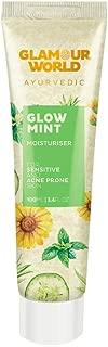 Glamour World Ayurvedic Glow Mint Moisturiser - 100 Ml   3.4 Fl Oz