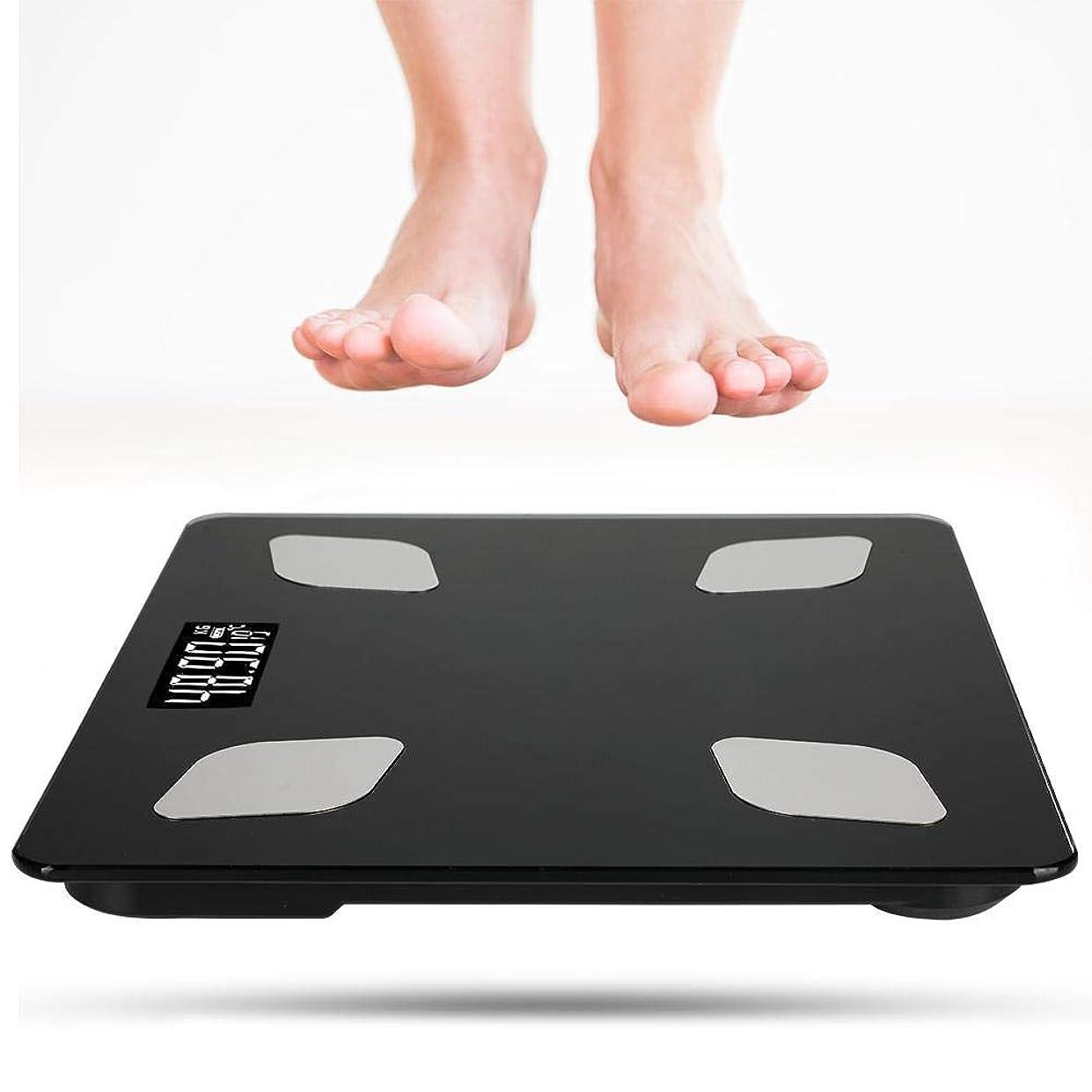 剥離肌寒いホラーdooti体重計 体脂肪計 体組成計 体重 体脂肪率 BMI 水分率 筋肉率 推定骨量 健康管理