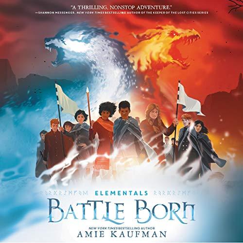 Elementals: Battle Born audiobook cover art